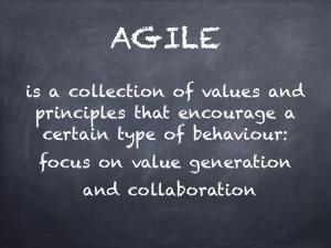 Agile defined