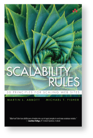 Book by Martin L. Abbott, Mihcael T. Fisher on scalability rules.