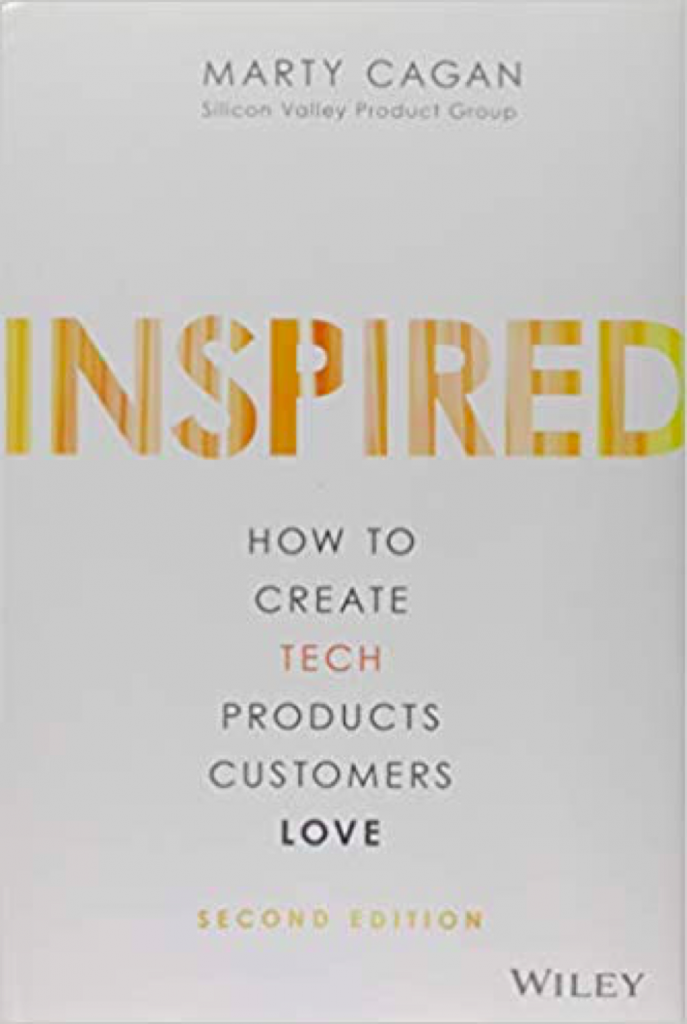 "Book ""Inspired"" by Marty Cagan - Edition from late 2017"