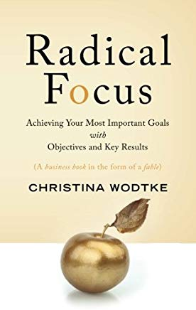 """Radical Focus"" by Christina Wodtke"